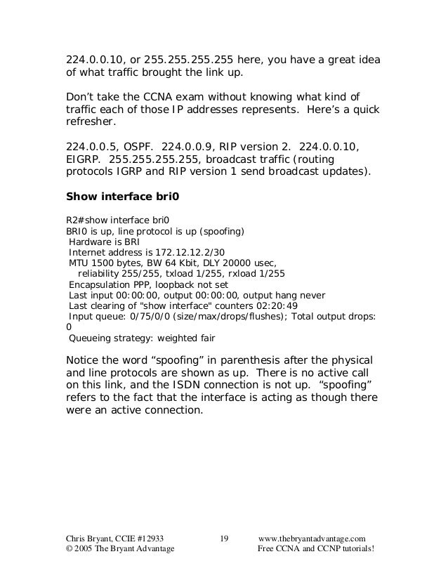 chris bryant ccna study guide