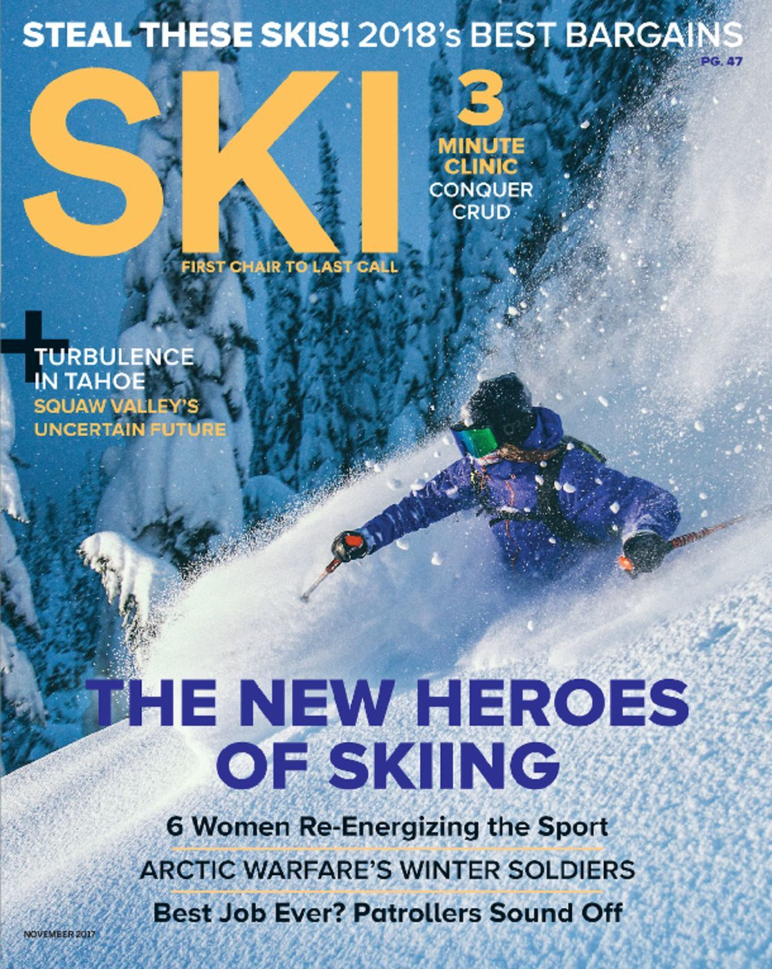 ski magazine gear guide 2017