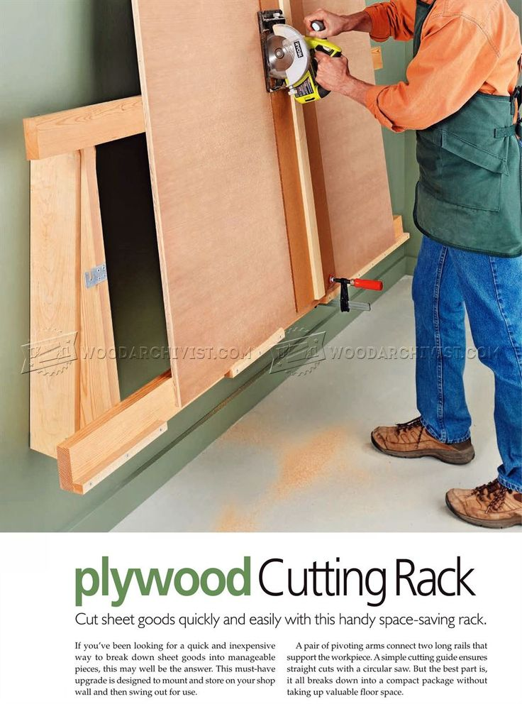 saw guides for cutting plywood