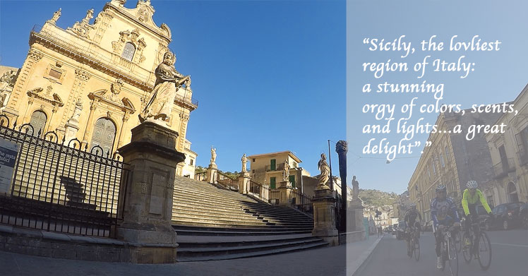 self guided walking tours sicily