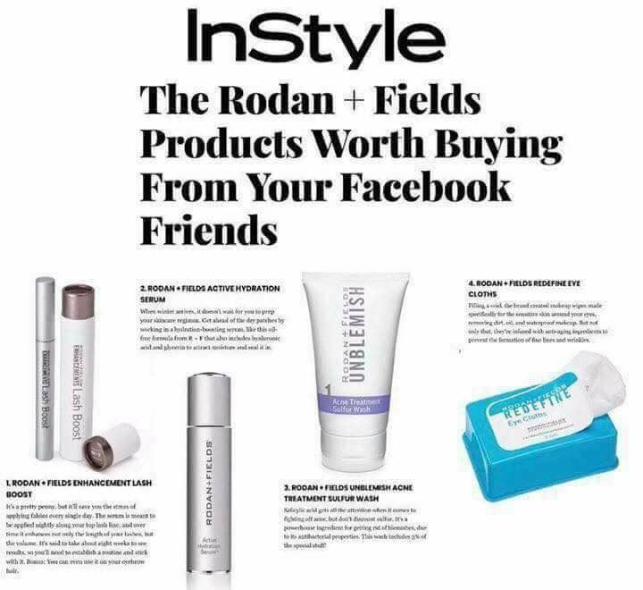 rodan and fields product guide 2017 us
