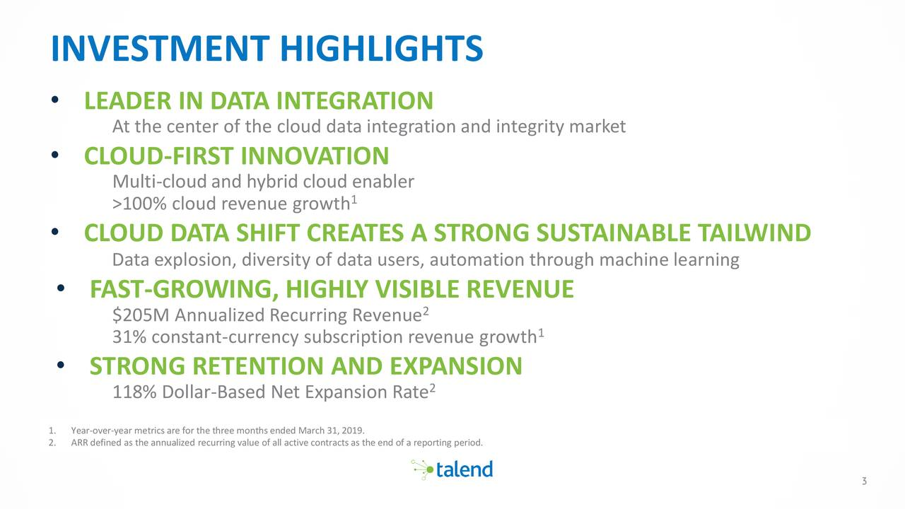 talend integration cloud user guide