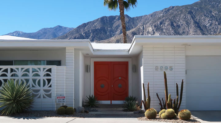 palm springs self guided tour