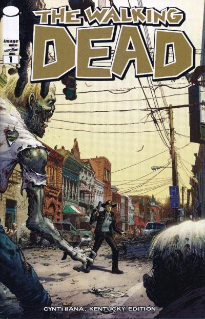the walking dead comic issue guide