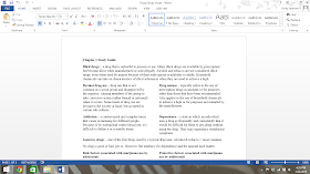 how to make a study guide on microsoft word